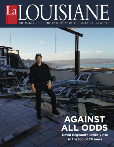 UL Lafayette La Louisiane Cover Fall 2018 Edition David Begnaud