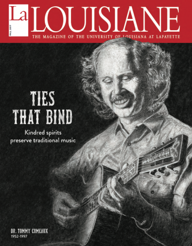 La Louisiane cover fall 2017 Tommy Comeaux
